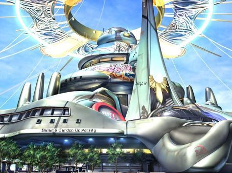 Squaresoft - Final Fantasy VIII Gardens - Diedrica Blog 01