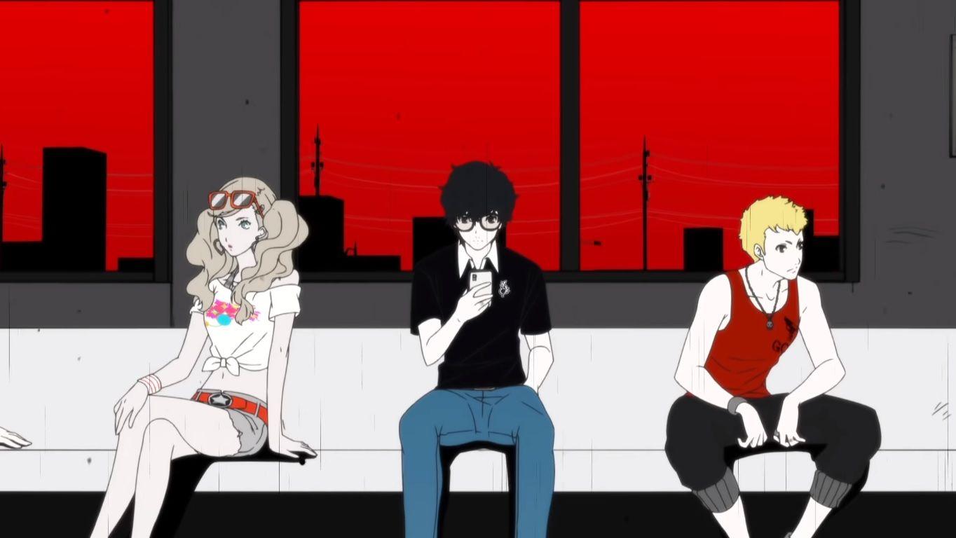 Persona5Scramble-ThePhantomStrikers-opening